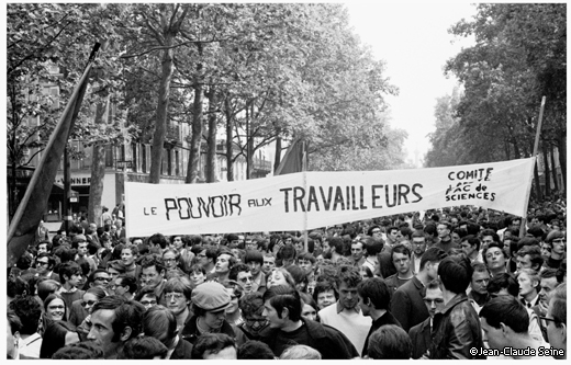 Mai 68 - Paris - Manifestation